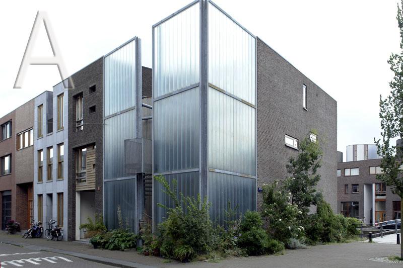 Wohnhaus residential house scheepstimmermanstraat amsterdam foto ts59 apollovision - Architektur amsterdam ...