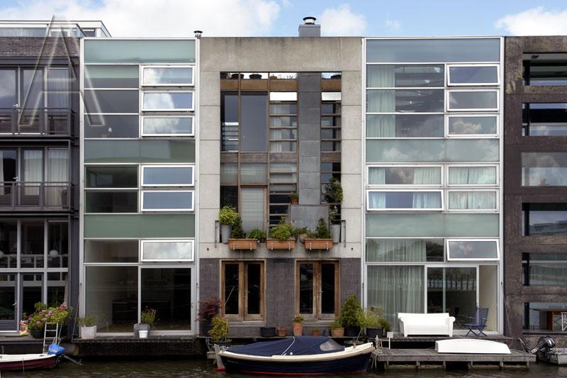 Wohnhaeuser residential houses scheepstimmermanstraat amsterdam foto ts59 - Architektur amsterdam ...